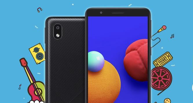 Samsung Galaxy M01 Core cena specyfikacja dane techniczne tani smartfon z Android Go
