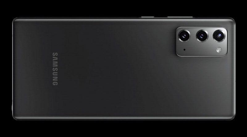 Samsung Galaxy Note 20 wideo płaski ekran plotki przecieki wycieki kiedy premiera specyfikacja dane techniczne