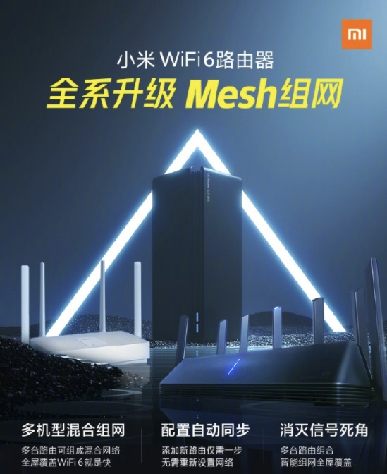 rutery Xiaomi opinie Wi-Fi 6 system mesh