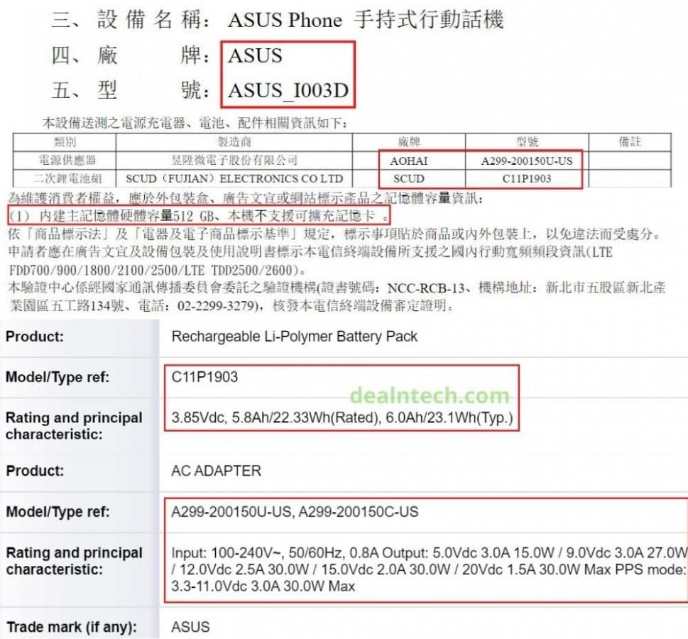 ASUS ROG Phone 3 kiedy premiera plotki przecieki wycieki specyfikacja dane techniczne smartfon do gier
