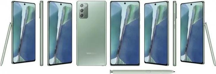 biały Samsung Galaxy Note 20 Ultra rendery potki przecieki wycieki specyfikacja dane techniczne