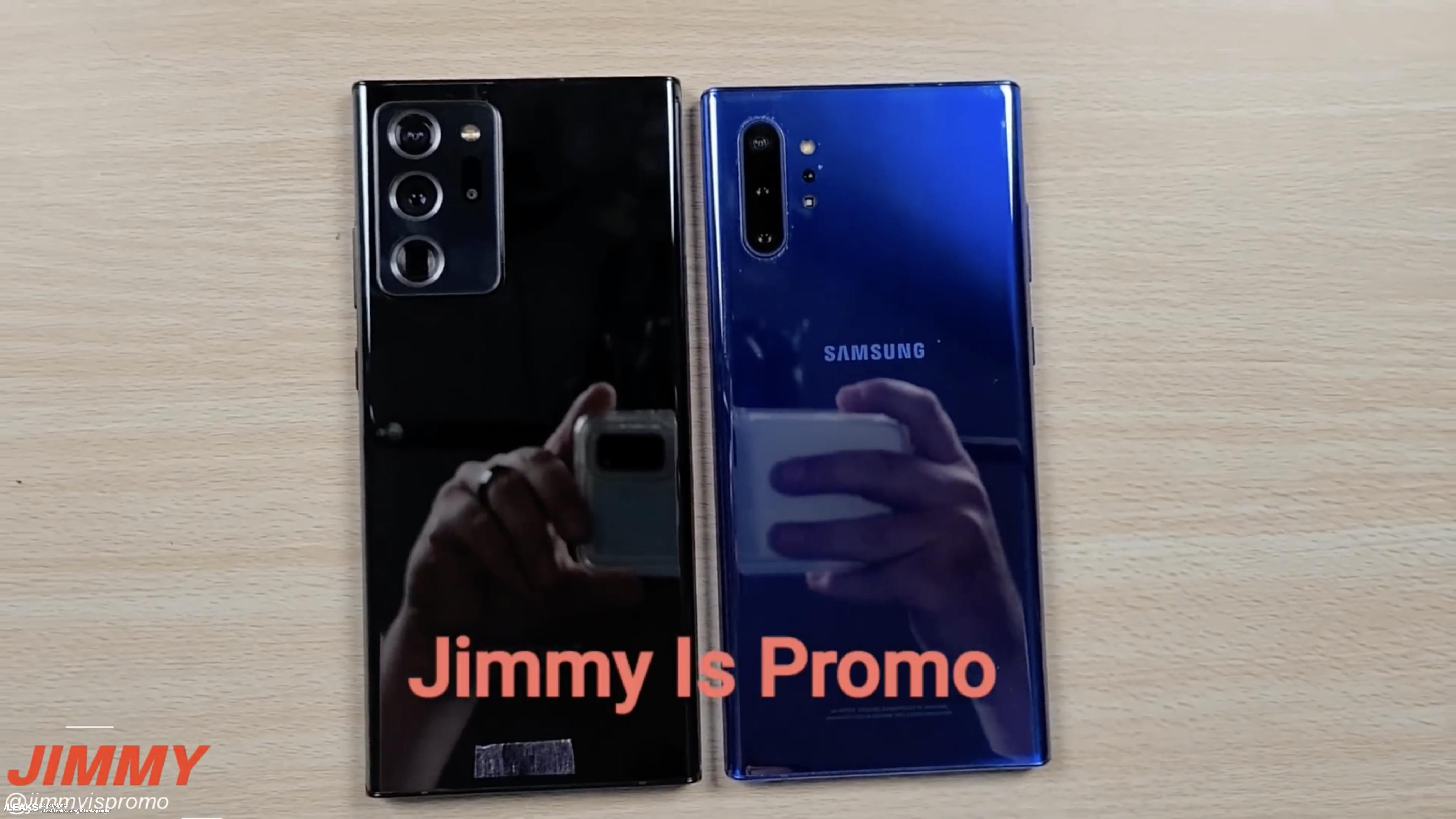 Samsung Galaxy Note 20 Ultra wideo cena S Pen plotki przecieki wycieki specyfikacja dane techniczne kiedy premiera