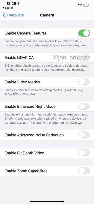 Apple iPhone 12 Pro Max przecieki wycieki plotki aparat LiDAR ekran 120 Hz specyfikacja dane techniczne