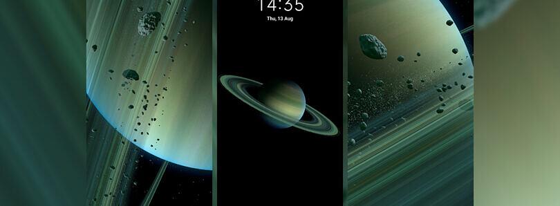 Xiaomi Mi 10 Ultra super tapety Saturn z MIUI 12