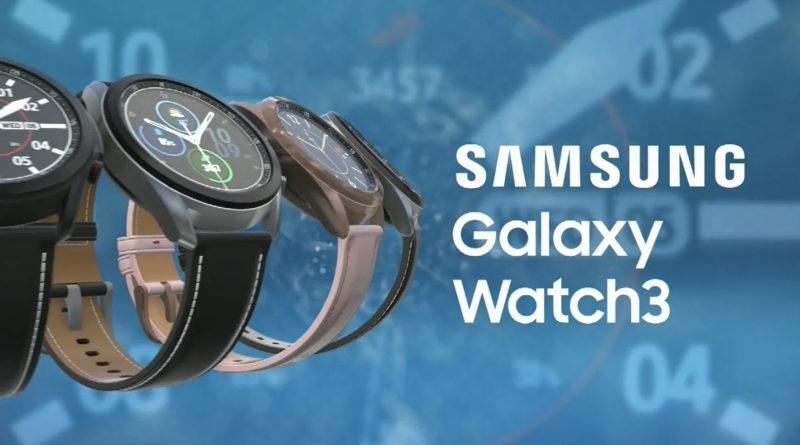 Samsung Galaxy Watch 3 cena smartwatche wideo nowe funkcje rozmiary warianty