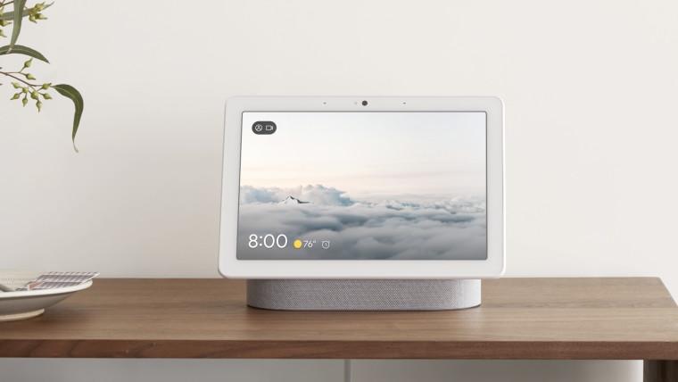 Google Nest Chromecast lokalizacja data Zdjęcia Google Photos