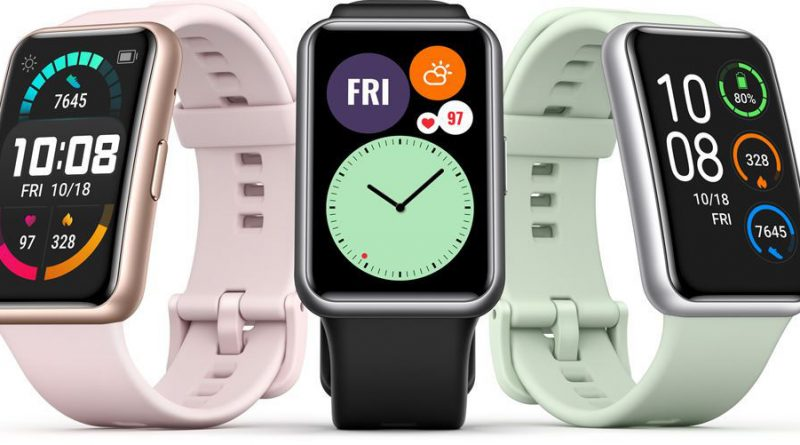 smartwatch Huawei Watch Fit cena opinie specyfikacja dane techjiczne gdzie kupić najtaniej