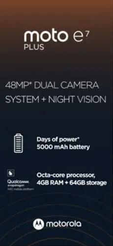 Motorola Moto E7 Plus specyfikacja dane techniczne kiedy premiera
