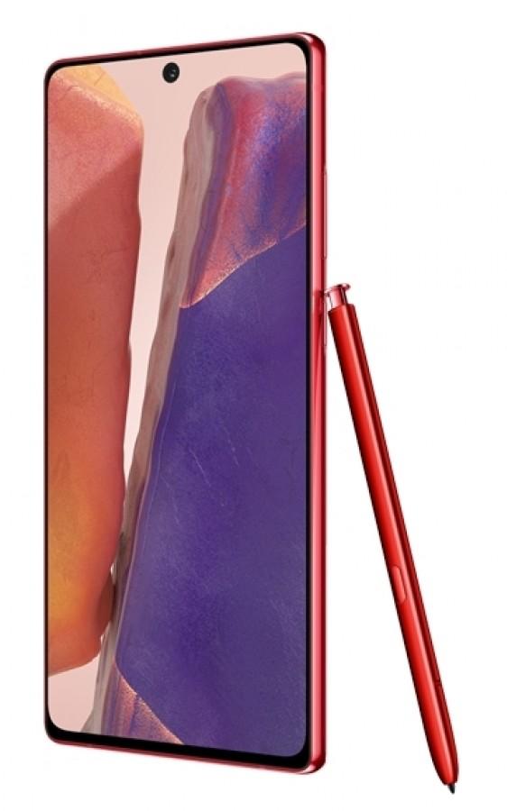 czerwony Samsung Galaxy Note 20 5G cena Mystic Red opinie gdzie kupić najtaniej specyfikacja dane techniczne