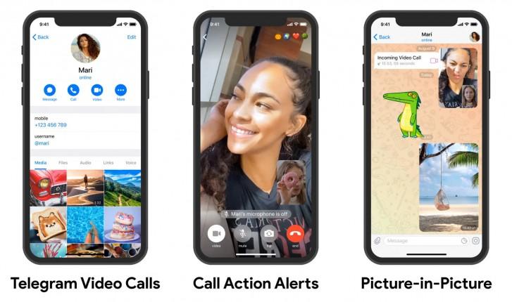 komunikator Telegram Messenger 7.0 wideorozmowy jak używać