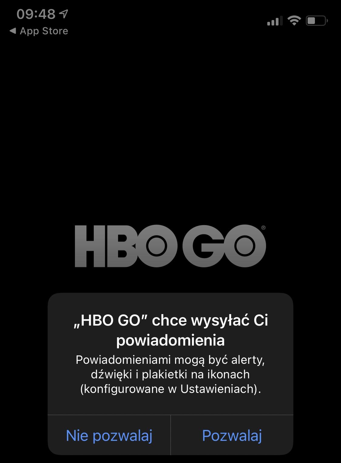 aplikacja HBO Go tryb offline jak pobrać filmy i seriale
