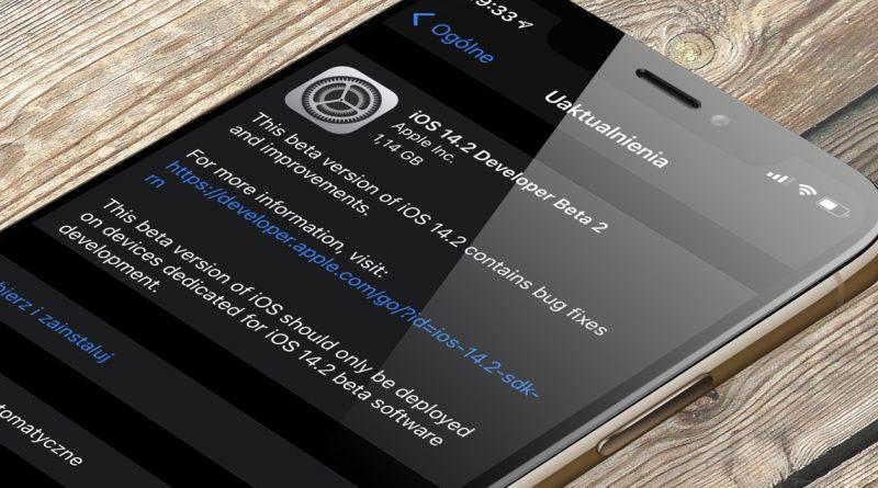 aktualizacja iOS 14.2 beta 2 co nowego nowości nowe emoji jakie Apple iPhone