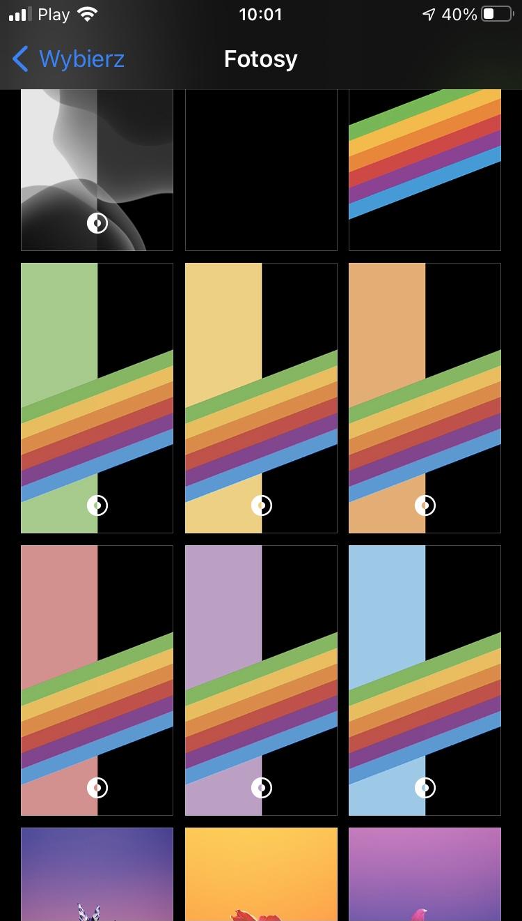 iOS 14 beta 7 aktualizacja Apple iPhone co nowego nowości tęczowe tapety dark mode lista zmian