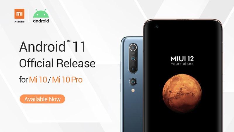 aktualizacja Android 11 z MIUI 12 dla Xiaomi Mi 10 Pro