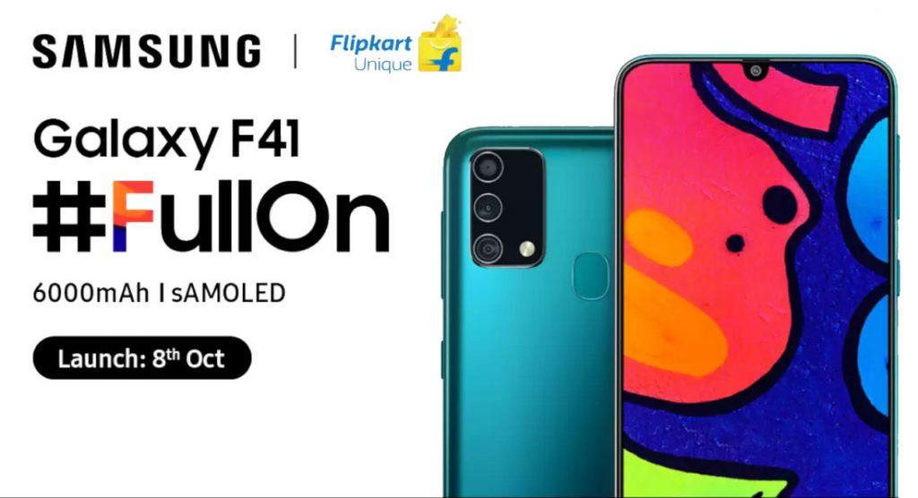 kiedy premiera Samsung Galaxy F41 cena plotki przecieki wycieki specyfikacja dane techniczne