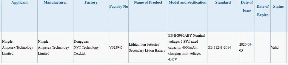 Samsung Galaxy S30 Plus baterie plotki przecieki wycieki kiedy premiera specyfikacja dane techniczne