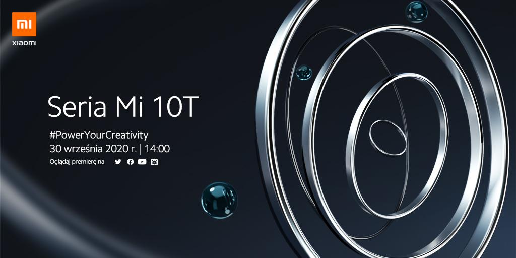 kied data premiery Xiaomi Mi 10T Pro cena specyfikacja plotki przecieki wycieki dane techniczne