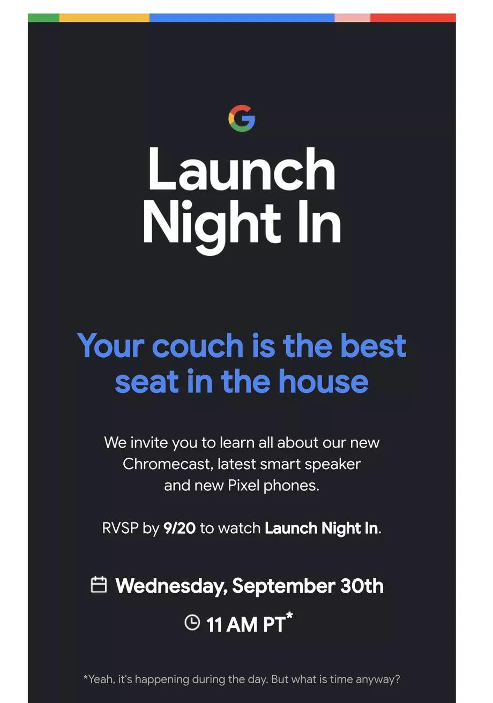 Google Pixel 5s Pixel 4a 5G data premiery kiedy premiera nowy Chromecast