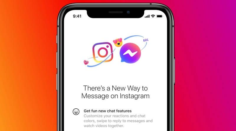 aplikacje Facebook Messenger Instagram jeden czat