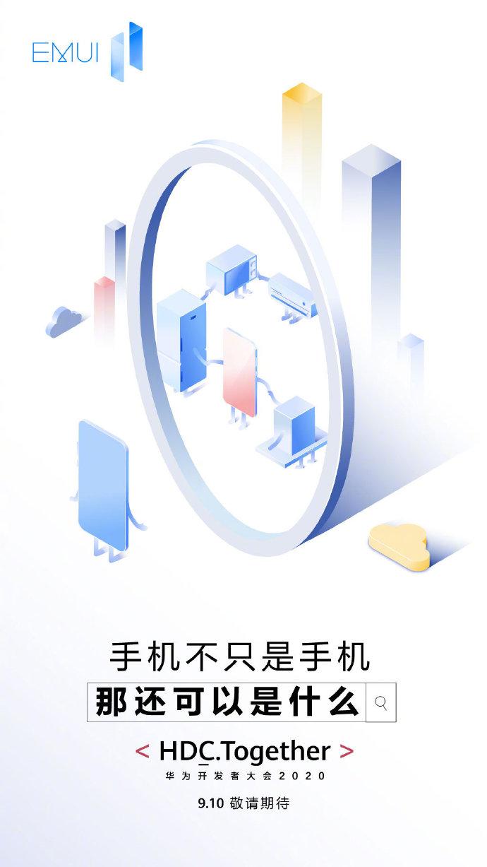 aktualizacja EMUI 11 Huawei HDC 2020 nowości nakładka na Android 11