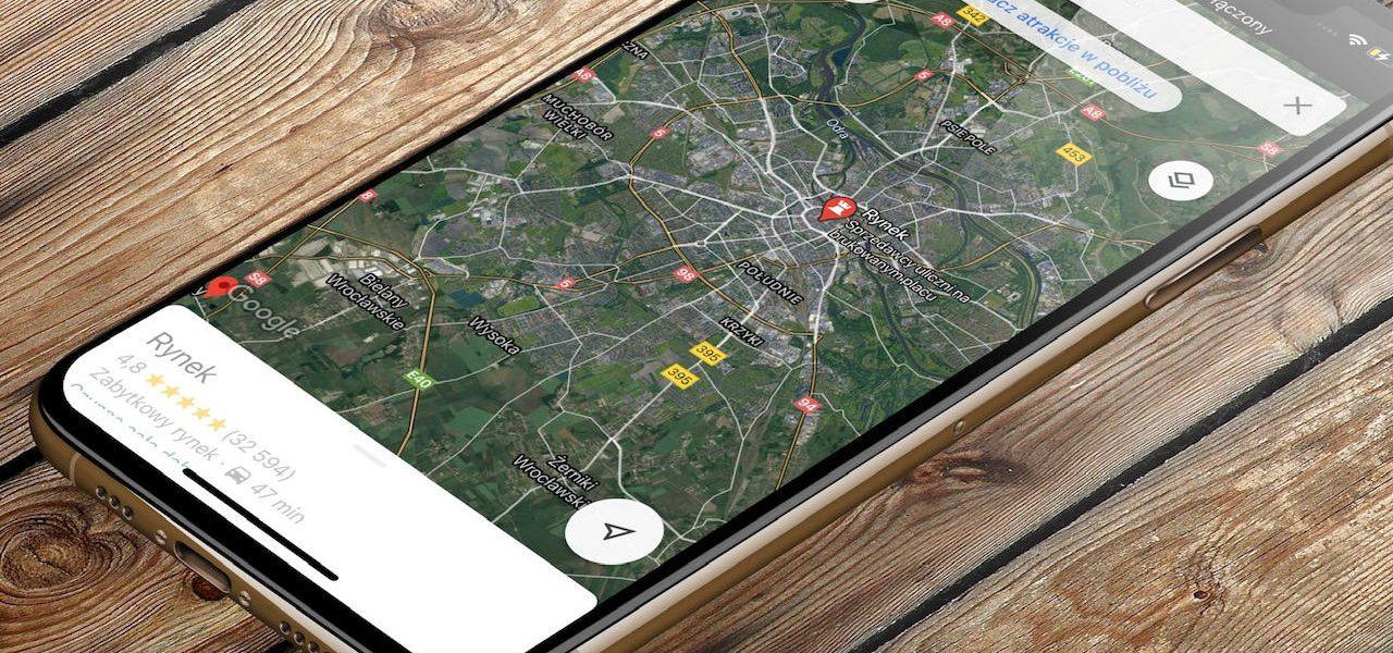 Mapy Google Maps tryb ciemny jak włączyć dark mode kiedy