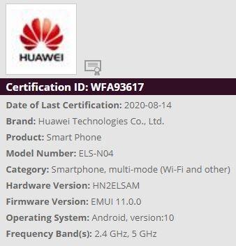 aktualizacja EMUI 11 dla Huawei P40 Pro kiedy