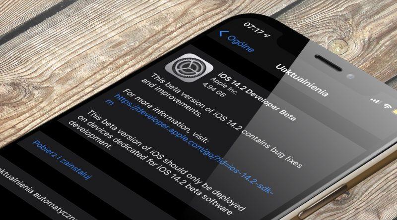 aktualizacja Apple iPhone iOS 14.2 beta 2 co nowego wykaz nowości zmiany kiedy premiera iPadOS 14.2 beta 2