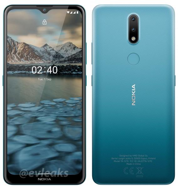 tani smartfon HMD Global Nokia 2.4 cena kiedy premiera specyfikacja render dane techniczne