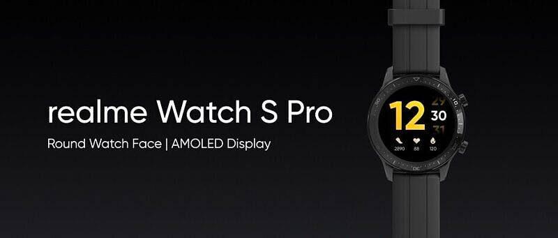 smartwatche Realme Watch S Pro specyfikacja dane techniczne opinie