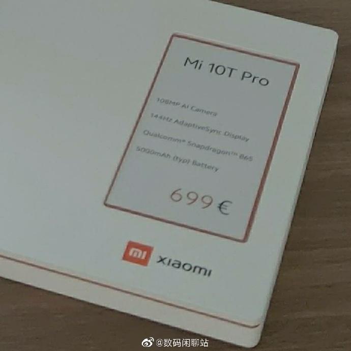 kiedy premiera Xiaomi Mi 10T Pro cena specyfikacja dane techniczne
