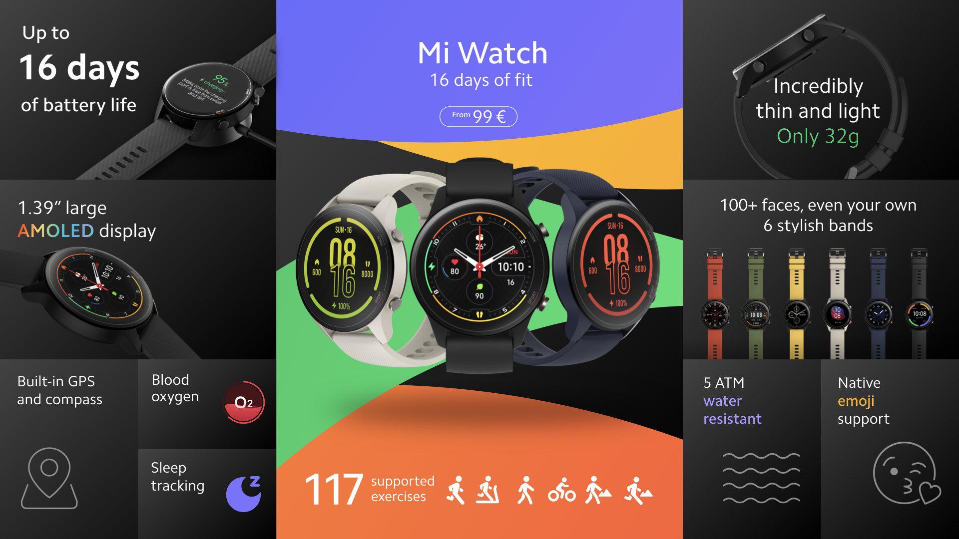 premiera Xiaomi Mi Watch cena global specyfikacja dane techniczne opinie funkcje gdzie kupić najtaniej w polsce