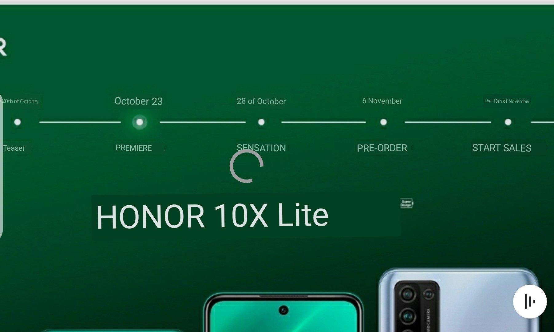 kiedy data premiery Honor 10X Lite cena specyfikacja dane techiczne opinie