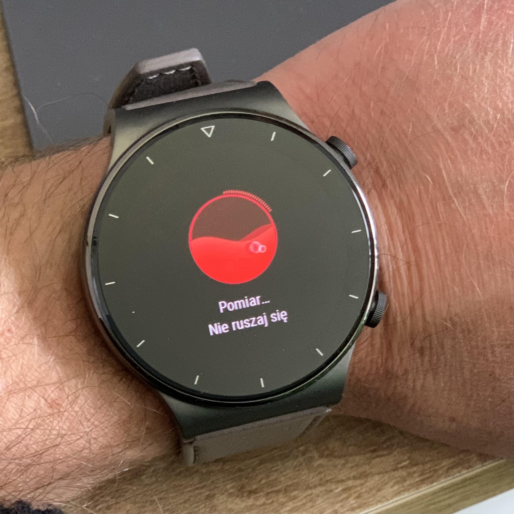 test Huawei Watch GT 2 Pro opinie recenzja czy warto kupić co może z iPhone