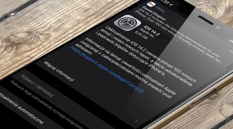 kiedy aktualizacja iOS 14.2 GM iPadOS 14.2 GM co nowego nowości wykaz zmian nowe emoji Apple iPhone 12 iPad opinie czy warto instalować