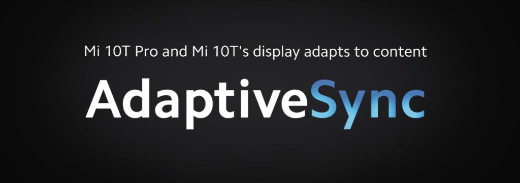 Xiaomi Mi 10T Pro ekran AdaptiveSync 144 hz