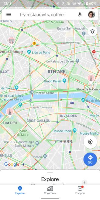 aplikacja Mapy Google Maps nowe funkcje dla rowerzystów