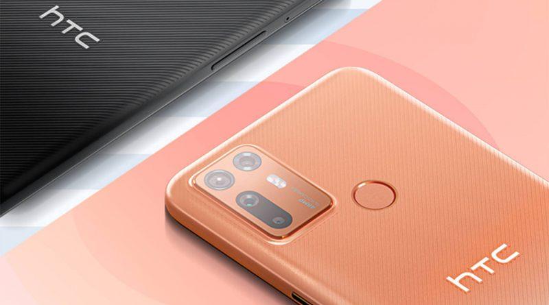 HTC Desire 20 Plus oficjalnie. Średniak z poczwórnym aparatem