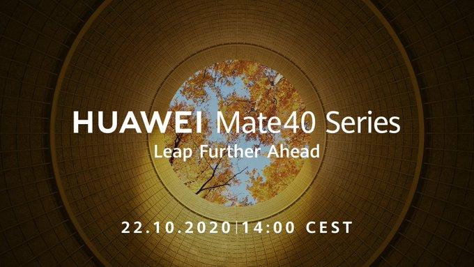 data premiery Huawei Mate 40 Pro kiedy premiera plotki przecieki wycieki
