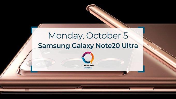 Samsung Galaxy Note 20 Ultra aparat ocena DxOMark Mobile