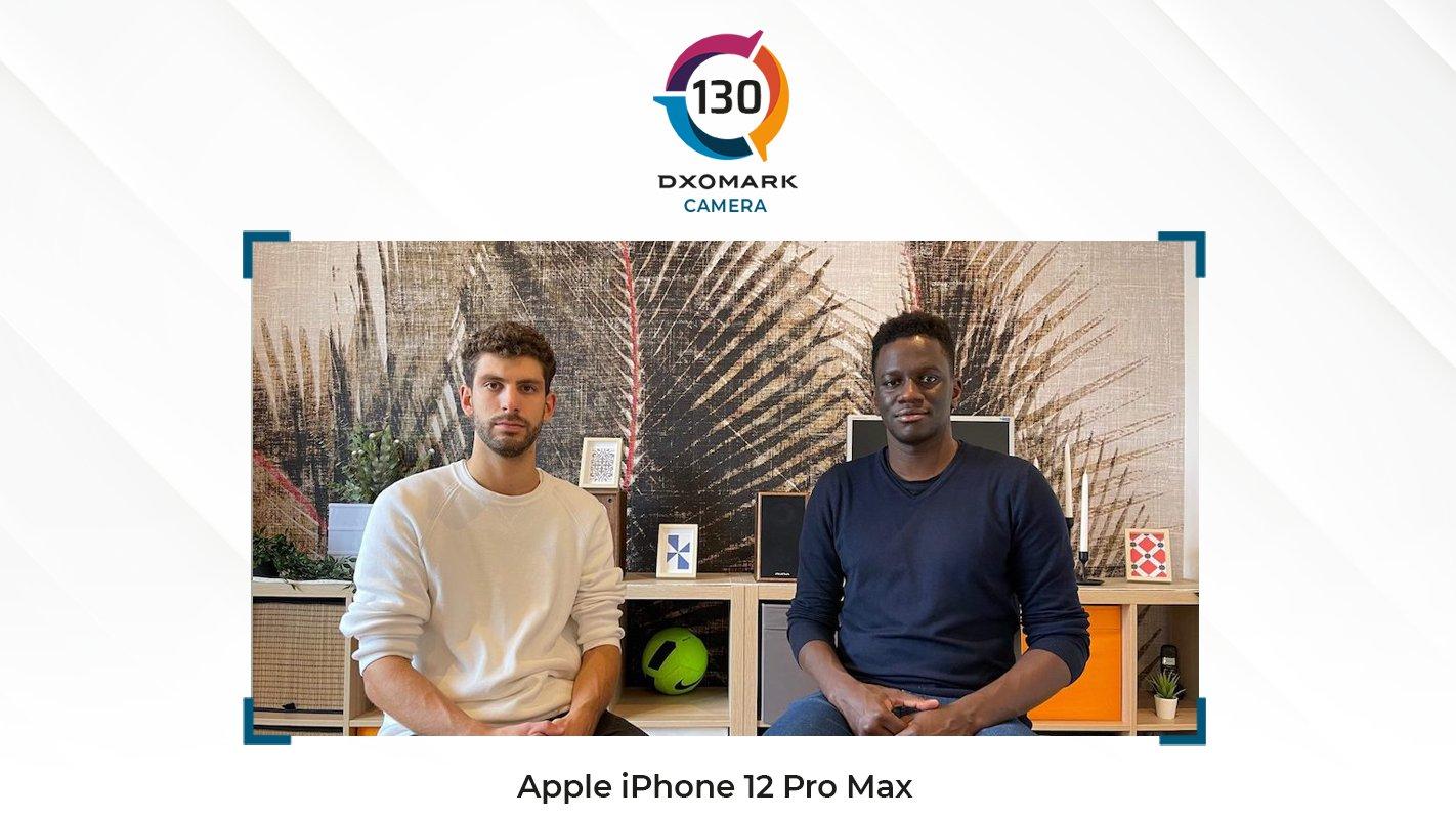 Apple iPhone 12 Pro Max aparat ocena DxOMark Mobile test opinie recenzja