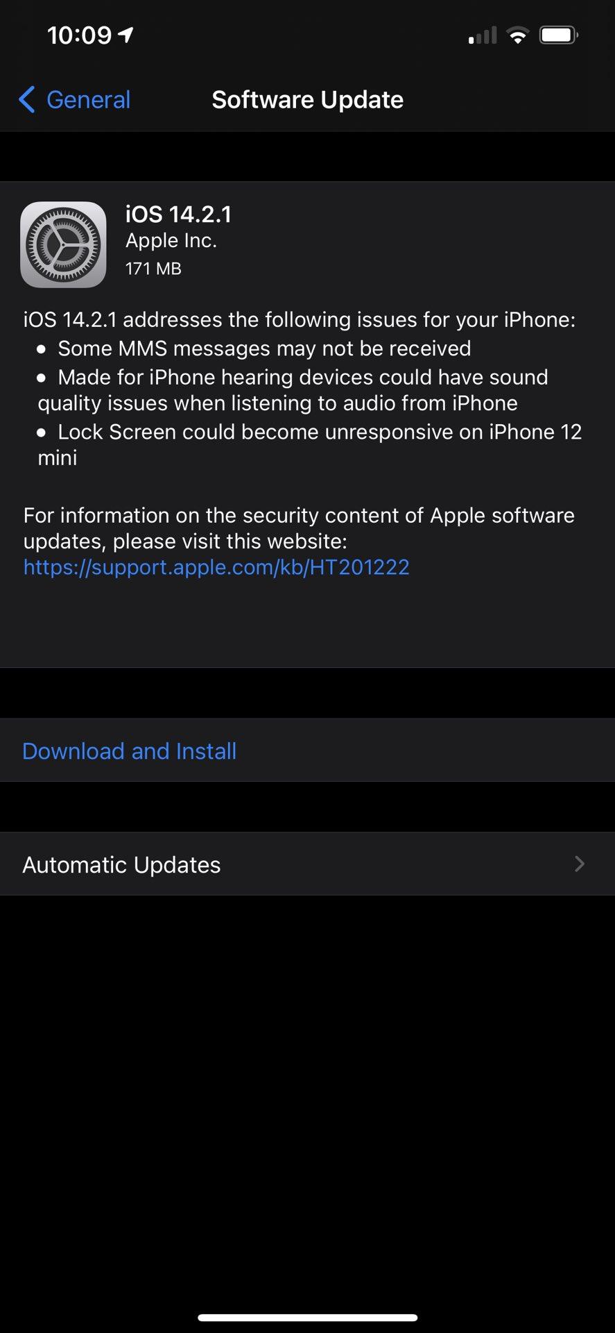 aktualizacja iOS 14.2.1 co nowego wykaz nowości zmiany iPhone 12 Apple