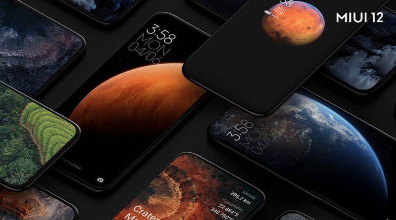 ajtualizacja MIUI 12 beta Xiaomi.eu nowe menu zasilania suwak głośności