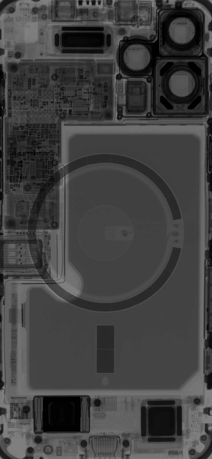 apple iphone 12 mini iphone 12 pro max tapety x-ray