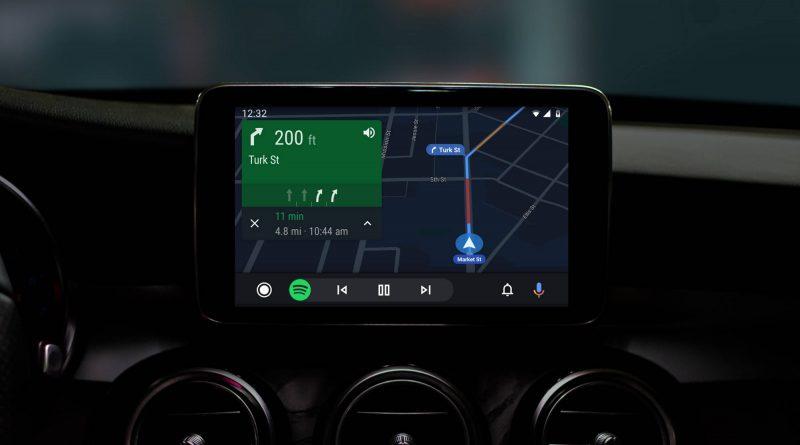 Android Auto 5.8 możliwość zmiany tapety skróty Asystent Google
