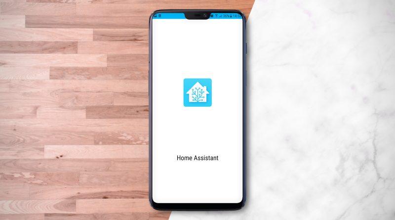 aplikacja Home Assistant 3.0 skróty menu zasilania Android 11
