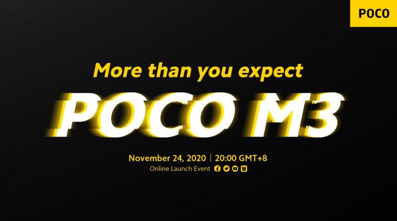 kiedy premiera POCO M3 przebrandowany Redmi Note 10 specyfikacja techniczna dane techniczne