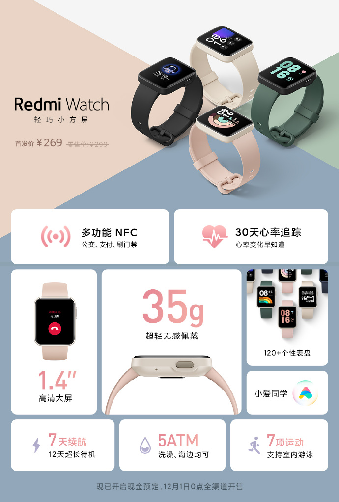premiera Redmi Watch cena funkcje opinie smartwatch specyfikacja techniczna gdzie kupić najtaniej w Polsce