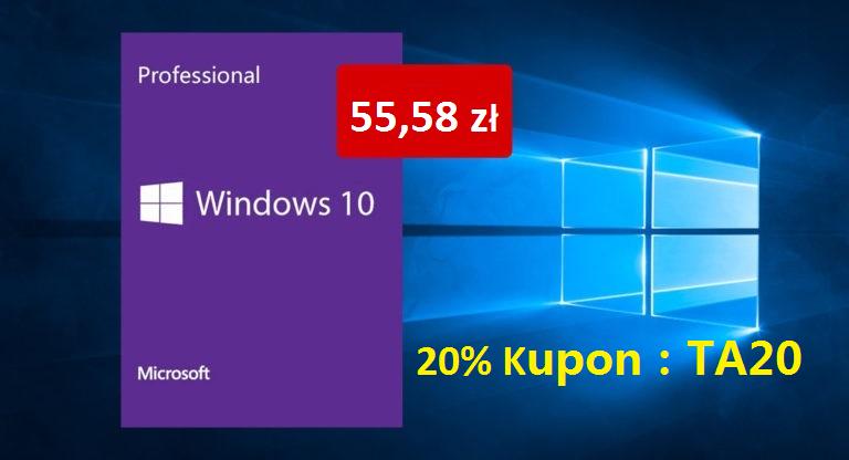 promocja Black Friday Czarny Piątek na Windows 10