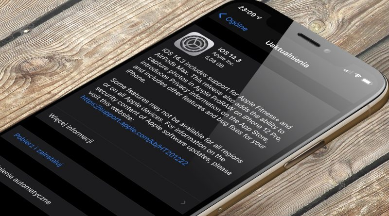 aktualizacja iOS 14.3 RC iPadOS 14.3 RC co nowego nowości wykaz zmian Apple iPhone opinie czy warto instalować