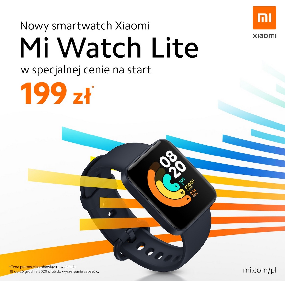 polska premiera Xiaomi Mi Watch Lite cena w polsce gdzie kupić najtaniej opinie czy warto
